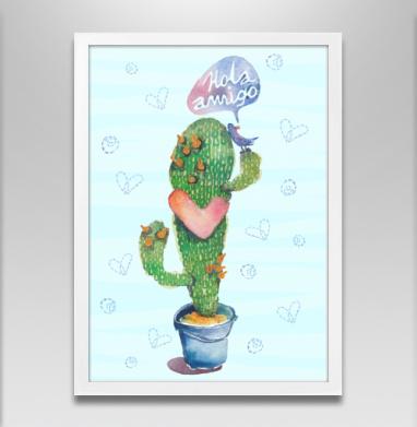Вязаный кактус  - Каталог женских товаров и принтов.