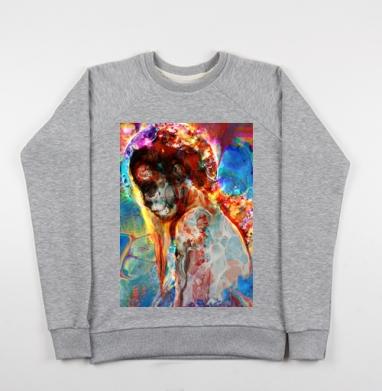 Думая - Купить детские свитшоты с черепом в Москве, цена детских свитшотов с черепом  с прикольными принтами - магазин дизайнерской одежды MaryJane