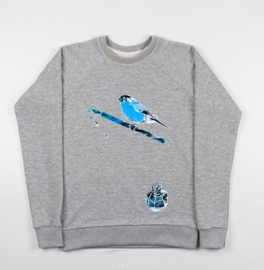 Февраль - Купить детские свитшоты с птицами в Москве, цена детских свитшотов с птицами  с прикольными принтами - магазин дизайнерской одежды MaryJane