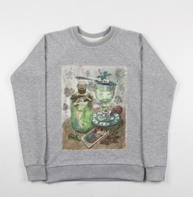 Фея абсента - Купить детские свитшоты с насекомыми в Москве, цена детских свитшотов с насекомыми  с прикольными принтами - магазин дизайнерской одежды MaryJane