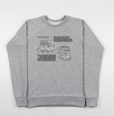 ПОЛЕ БРАНИ двадцать-шестнадцать - Купить мужские свитшоты с надписями в Москве, цена мужских свитшотов с надписями  с прикольными принтами - магазин дизайнерской одежды MaryJane