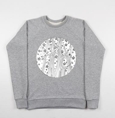 Таинственный лес - Купить детские свитшоты красивые в Москве, цена детских свитшотов красивых  с прикольными принтами - магазин дизайнерской одежды MaryJane