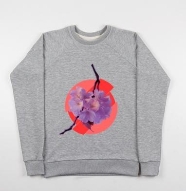 Японская весна - Купить детские свитшоты с горами в Москве, цена детских свитшотов с горами с прикольными принтами - магазин дизайнерской одежды MaryJane