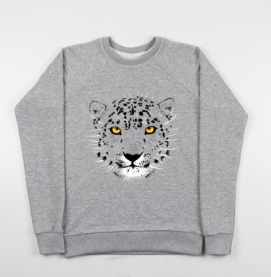 Бааарсик - Купить детские свитшоты серые в Москве, цена детских свитшотов серых с прикольными принтами - магазин дизайнерской одежды MaryJane
