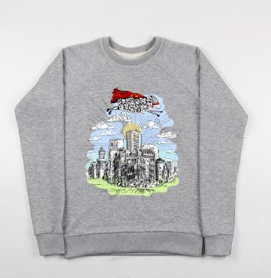 Для рожденных в год овцы - Купить детские свитшоты серые в Москве, цена детских свитшотов серых с прикольными принтами - магазин дизайнерской одежды MaryJane