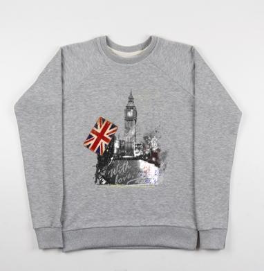 Когда часы двенадцать бьют - Купить детские свитшоты с городами в Москве, цена детских свитшотов с городами  с прикольными принтами - магазин дизайнерской одежды MaryJane