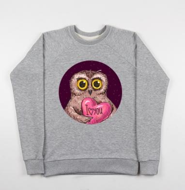 Люблю тебя, моя птичка - Купить детские свитшоты с птицами в Москве, цена детских свитшотов с птицами  с прикольными принтами - магазин дизайнерской одежды MaryJane