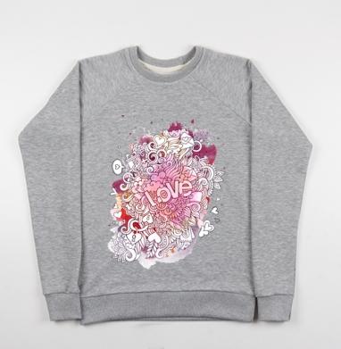 Любовь и дудлы - Купить детские свитшоты с символами в Москве, цена детских свитшотов с символом с прикольными принтами - магазин дизайнерской одежды MaryJane