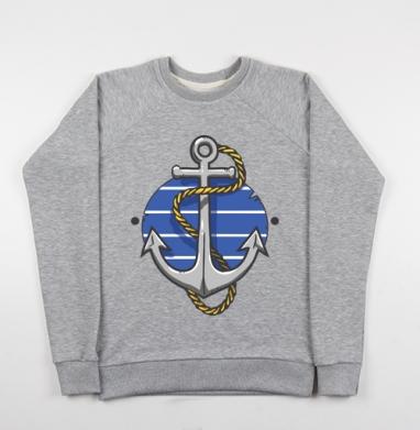 Море волнуется раз - Купить детские свитшоты морские  в Москве, цена детских свитшотов морских   с прикольными принтами - магазин дизайнерской одежды MaryJane