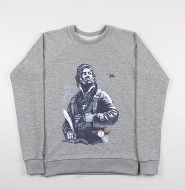 Настоящий АС - Купить детские свитшоты военные в Москве, цена детских свитшотов военных с прикольными принтами - магазин дизайнерской одежды MaryJane