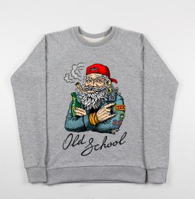 Old School - Купить детские свитшоты с цитатами в Москве, цена детских свитшотов с цитатами  с прикольными принтами - магазин дизайнерской одежды MaryJane