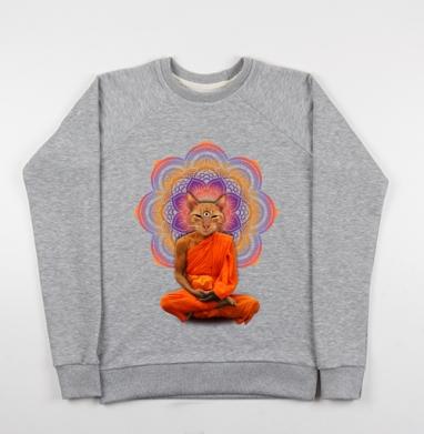 Оммм... - Купить детские свитшоты с йогой в Москве, цена детских свитшотов с йогой  с прикольными принтами - магазин дизайнерской одежды MaryJane