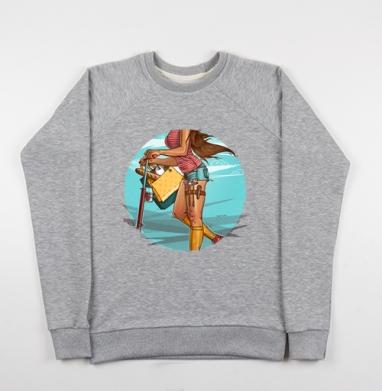 Она может все - Купить детские свитшоты модные в Москве, цена детских свитшотов модных  с прикольными принтами - магазин дизайнерской одежды MaryJane