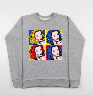 Поп-арт в моде - Купить детские свитшоты модные в Москве, цена детских свитшотов модных  с прикольными принтами - магазин дизайнерской одежды MaryJane