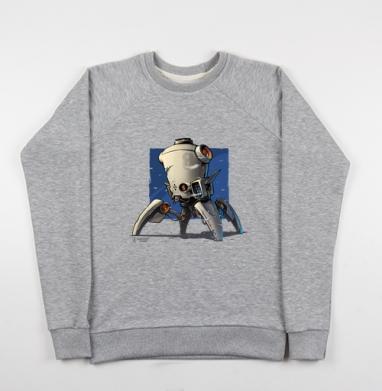 Робо  - Купить детские свитшоты с роботами в Москве, цена детских свитшотов с роботами с прикольными принтами - магазин дизайнерской одежды MaryJane