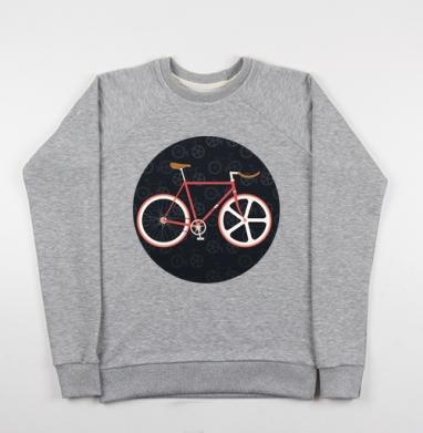 Велик - Купить детские свитшоты с велосипедом в Москве, цена детских свитшотов с велосипедом с прикольными принтами - магазин дизайнерской одежды MaryJane