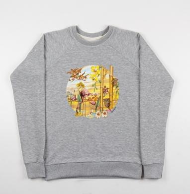 Великое искусство света и тени - Купить детские свитшоты с йогой в Москве, цена детских свитшотов с йогой  с прикольными принтами - магазин дизайнерской одежды MaryJane