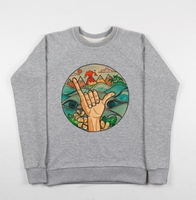 ВСЕМ СЁРФИНГ - Купить детские свитшоты морские  в Москве, цена детских свитшотов морских   с прикольными принтами - магазин дизайнерской одежды MaryJane