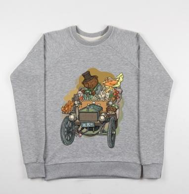 Хорошая компания - Купить детские свитшоты ретро в Москве, цена детских свитшотов ретро  с прикольными принтами - магазин дизайнерской одежды MaryJane