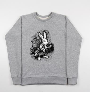 Заяц из алисы в стране чудес - Купить детские свитшоты с животными в Москве, цена детских свитшотов с животными  с прикольными принтами - магазин дизайнерской одежды MaryJane