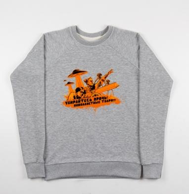 Чапаев против пришельцев  - Купить детские свитшоты Россия в Москве, цена детских свитшотов Россия  с прикольными принтами - магазин дизайнерской одежды MaryJane