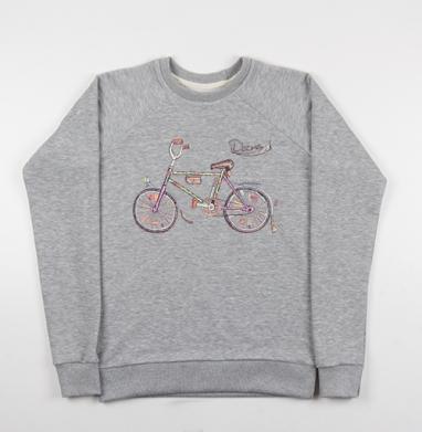 Десна I (ностальгический велосипед) - Купить детские свитшоты СССР в Москве, цена детских свитшотов СССР  с прикольными принтами - магазин дизайнерской одежды MaryJane