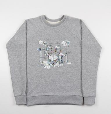 Drums - Купить детские свитшоты музыка в Москве, цена детских свитшотов музыкальных  с прикольными принтами - магазин дизайнерской одежды MaryJane