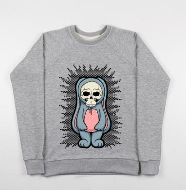 Няшечка - Купить детские свитшоты с черепом в Москве, цена детских свитшотов с черепом  с прикольными принтами - магазин дизайнерской одежды MaryJane