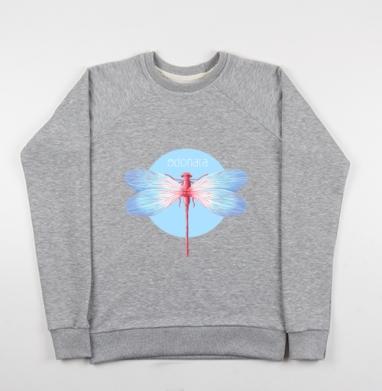 Odonata - Купить детские свитшоты с насекомыми в Москве, цена детских свитшотов с насекомыми  с прикольными принтами - магазин дизайнерской одежды MaryJane
