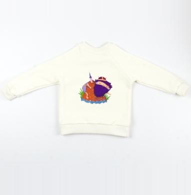 Викинг в горах - Cвитшот Детский Экрю 320гр, стандарт, Популярные