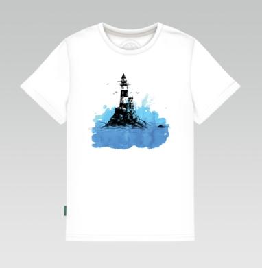 Маяк - Детская футболка белая 160гр, Популярные