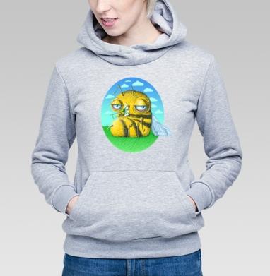 Пчела с ромашкой - Купить детские толстовки с летом в Москве, цена детских толстовок с летом  с прикольными принтами - магазин дизайнерской одежды MaryJane