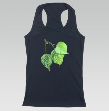 Листья тополя - Борцовка женская темн.-синяя рибана 200гр, Популярные