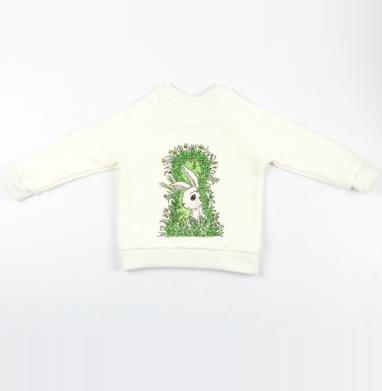 Солнечный кролик - Cвитшот Детский Экрю 320гр, стандарт, Популярные