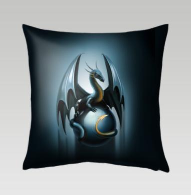 Дракон на стеклянном шаре, Подушка