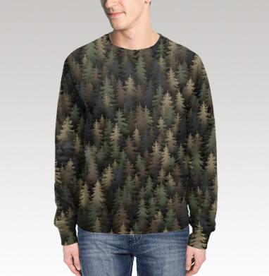 Лесной камуфляж, Свитшот мужской 3D