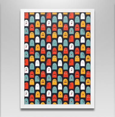 Улыбки цветных привидений - Постеры, мужские, Популярные