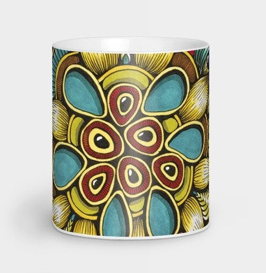 Осенняя зендала - Кружки с логотипом