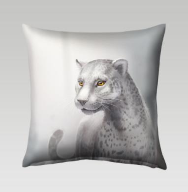 Серый леопард, Подушка