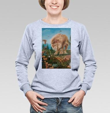 Зависла в фотошопе - Купить женские свитшоты с природой в Москве, цена женских свитшотов с природой  с прикольными принтами - магазин дизайнерской одежды MaryJane
