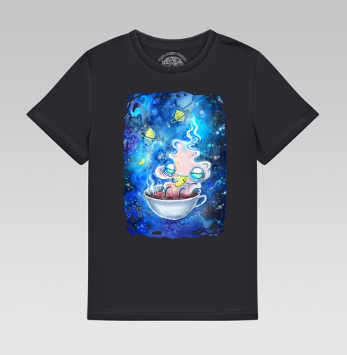 Футболка —  Чайная вселенная от KataMk | maryjane.ru - дизайнерские футболки