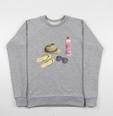 Пляжные нужности - Купить мужские свитшоты морские  в Москве, цена мужских свитшотов морских   с прикольными принтами - магазин дизайнерской одежды MaryJane