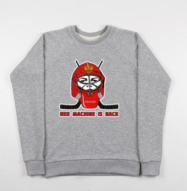 Red machine - Купить мужские свитшоты Россия в Москве, цена мужских свитшотов Россия  с прикольными принтами - магазин дизайнерской одежды MaryJane