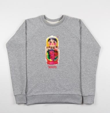 Roots - Купить мужские свитшоты Россия в Москве, цена мужских свитшотов Россия  с прикольными принтами - магазин дизайнерской одежды MaryJane