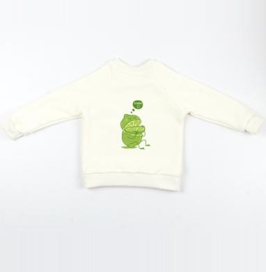 Cвитшот Детский Экрю 320гр, стандарт - Vitamin c