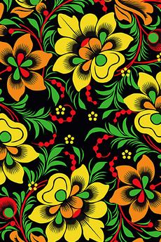 DarkFlowersfromRussia - хохлома - Коллекции
