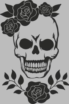 ОЛД - Модные футболки с черепами, скелетами и костями.