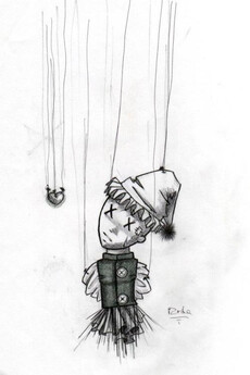 Кукла - карандаш - Коллекции