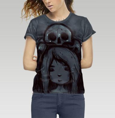 Девочка и черепа