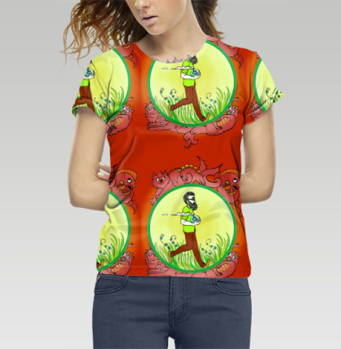 Футболка женская 3D - Когда неважно, что снаружи